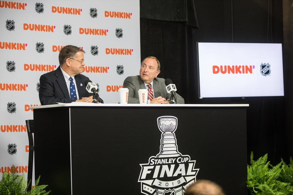Dunkin And The National Hockey League Announce A New Multi Year