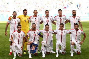 Dusan Tadic Aleksandar Mitrovic Costa Rica vs. Serbia: Group E - 2018 FIFA World Cup Russia
