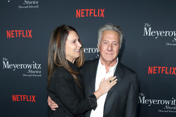Dustin Hoffman Lisa Hoffman 'The Meyerowitz Stories' (New and Selected) Special Screening in Los Angeles, CA