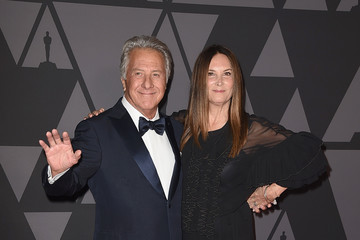 Dustin Hoffman Lisa Hoffman Academy of Motion Picture Arts and Sciences' 9th Annual Governors Awards - Arrivals