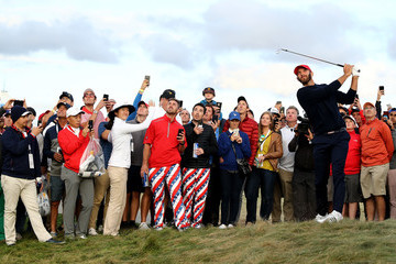 Dustin Johnson The Presidents Cup - Round Three