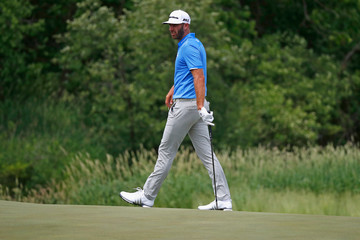 Dustin Johnson U.S. Open - Preview Day 3