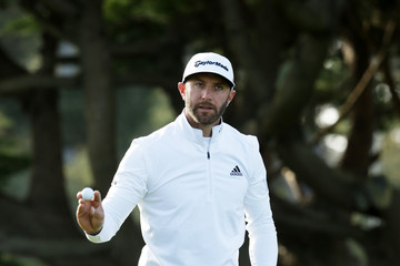 Dustin Johnson AT&T Pebble Beach Pro-Am - Round One