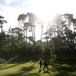 Dustin Johnson AT&T Pebble Beach Pro-Am - Preview Day 3