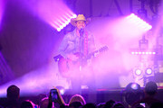 Country artist Dustin Lynch performs at Marathon Music Works on January 17, 2020 in Nashville, Tennessee.