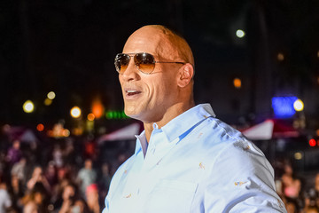 Dwayne Johnson Paramount Pictures' World Premiere of 'Baywatch'