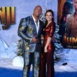 Dwayne Johnson Premiere Of Sony Pictures'