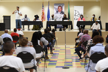 Dwayne Morgan Clark County, Nevada Hosts Policing And Race Summit Moderated by T.I.