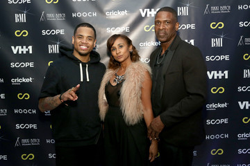Dwayne Wade Sr VH1's 'The Breaks Lounge' Scope Official Party