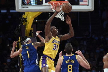 Dwight Howard Golden State Warriors v Los Angeles Lakers