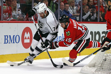 Dwight King Los Angeles Kings v Chicago Blackhawks
