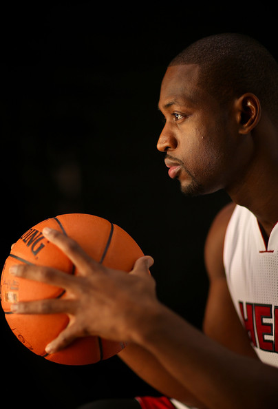 11c8ce6a0d9 Dwyane Wade Photos Photos - Miami Heat Media Day - Zimbio