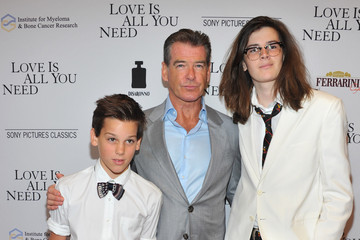 Dylan Brosnan Red Carpet Arrivals at the 'Love Is All You Need' Premiere