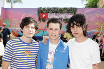 Dylan Minnette YouTube Music Artist Lounge At Coachella 2019 - Day 2