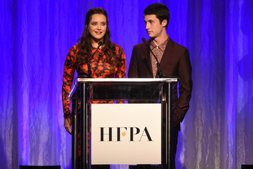 Dylan Minnette Hollywood Foreign Press Association's Grants Banquet - Show