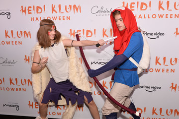 Dylan Sprouse Barbara Palvin Heidi Klum's 20th Annual Halloween Party - Arrivals