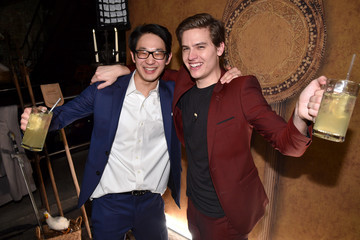 """Dylan Sprouse Matt Kwan """"Miracle Workers: Dark Ages"""" Premiere And MEADia Event"""