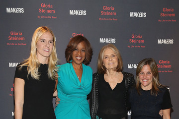 Dyllan McGee AOL's MAKERS Celebrates Gloria Steinem's New Book 'My Life On The Road'