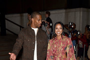 Victor Cruz and Karrueche Tran attend as E!, ELLE & IMG celebrate the Kick-Off To NYFW: The Shows at The Pool on September 5, 2018 in New York City.