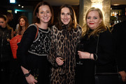 """(L-R) Jenny Falckenberg, Annette Weber and Ingrid Rose attend E! Red Carpet Influencer Suite promoting """"Live from the Red Carpet"""" on german E! Entertainment at Soho House on January 10, 2016 in Berlin, Germany."""