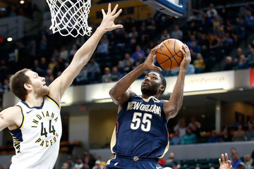 E'Twaun Moore New Orleans Pelicans v Indiana Pacers