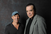Film producer Jon Kilik and actor Chazz Palminteri pose backstage at the 'A BRONX TALE' Screening at Virginia Theatre during EBERTFEST 2015 on April 17, 2015 in Champaign, Illinois.