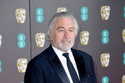 Robert De Niro attends the EE British Academy Film Awards 2020 at Royal Albert Hall on February 02, 2020 in London, England.