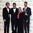 Carrie Fisher and Domhnall Gleeson Photos