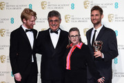 Carrie Fisher and Domhnall Gleeson Photos Photo