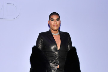 EJ Johnson Tom Ford Women's - Arrivals - February 2018 - New York Fashion Week