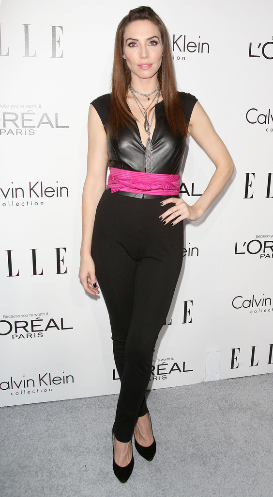 Actress Whitney Cummings attends ELLE's 20th Annual Women in Hollywood Celebration at the Four Seasons Hotel Los Angeles at Beverly Hills on October 21, 2013 in Beverly Hills, California.