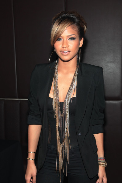 Cassie Cassie attends ELLE's inaugural event celebrating the July Women in Music issue at Highline Ballroom on June 9, 2010 in New York City.