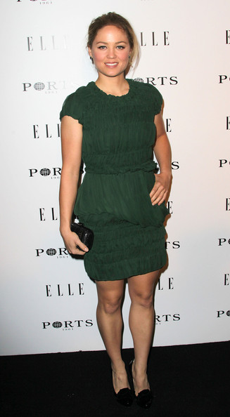 Actress Erika Christensen attends ELLE's Inaugural Women in Television Celebratory Dinner at the Soho House on January 27, 2011 in West Hollywood, California.