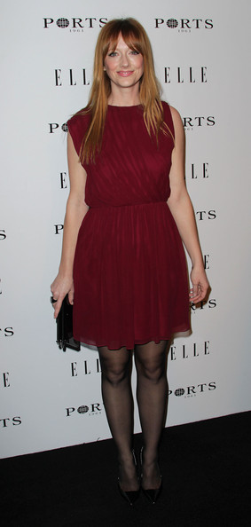 Actress Judy Greer attends ELLE's Inaugural Women in Television Celebratory Dinner at the Soho House on January 27, 2011 in West Hollywood, California.