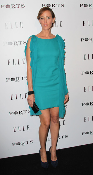 Actress Kim Raver attends ELLE's Inaugural Women in Television Celebratory Dinner at the Soho House on January 27, 2011 in West Hollywood, California.