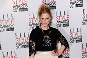 Actress Emilia Fox attends the 2011 ELLE Style Awards at the Grand Connaught Rooms on February 14, 2011 in London, England.