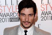 Model David Gandy attends the 2011 ELLE Style Awards at the Grand Connaught Rooms on February 14, 2011 in London, England.