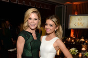 Actresses Julie Bowen (L) and Sarah Hyland attend ELLE's Annual Women in Television Celebration on January 13, 2015 at Sunset Tower in West Hollywood, California. Presented by Hearts on Fire and Olay.