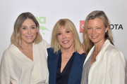 (L-R) Alexx Monkarsh, Environmental Media Association Debbie Levin and Amy Smart attend the EMA IMPACT Summit - Day Two at Montage Beverly Hills on May 30, 2019 in Beverly Hills, California.