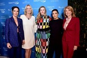 (L-R) Amanda Shires,  President of EMILY's List Stephanie Schriock, Amber Tamblyn, Eva Longoria, and Wendy Davis attend EMILY's List 3rd Annual Pre-Oscars Event at Four Seasons Hotel Los Angeles at Beverly Hills on February 04, 2020 in Los Angeles, California.
