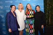 "(L-R) Amanda Shires, EMILY's List President Stephanie Schriock, Amber Tamblyn, and Eva Longoria attend EMILY's List Brunch and Panel Discussion ""Defining Women"" at Four Seasons Hotel Los Angeles at Beverly Hills on February 04, 2020 in Los Angeles, California."