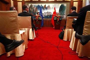 Dai Bingguo EU Foreign Policy Chief Catherine Ashton Visits China