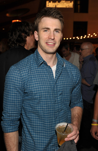 Chris Evans in EW and Syfy Celebrate Comic-Con - Zimbio