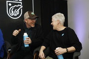 Ron Howard and Gina McCarthy speak on the EW x NRDC Sundance Film Festival Panel Series: Rebuilding Paradise Panel and Reception at Main Street Gallery on January 25, 2020 in Park City, Utah.