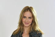 (EXCLUSIVE COVERAGE)  Trinny Woodall poses during a video shoot for her original Magic Knickers range on July 18, 2011 in London, England.