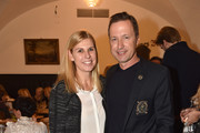 Anke Huber and Norbert Dobeleit during the Eagles New Year's Reception on February 4, 2018 in Rottach-Egern, Germany.