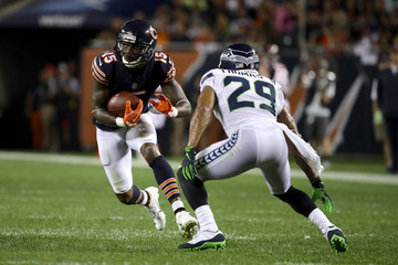 Earl Thomas Seattle Seahawks v Chicago Bears