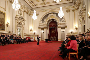 Earl of Wessex National Youth Theatre Diamond Anniversary Reception At Buckingham Palace Hosted By HRH The Earl Of Wessex