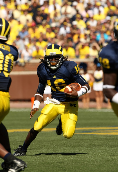 Denard can run, but can he throw? In so many ways, no.