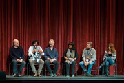 Chen Alon, Sulaiman Khatib, Stephen Apkon, Chaz Ebert, Andrew Young, and Marcina Hale attend the the 2016 Ebertfest on April 15, 2016 in Champaign, Illinois.